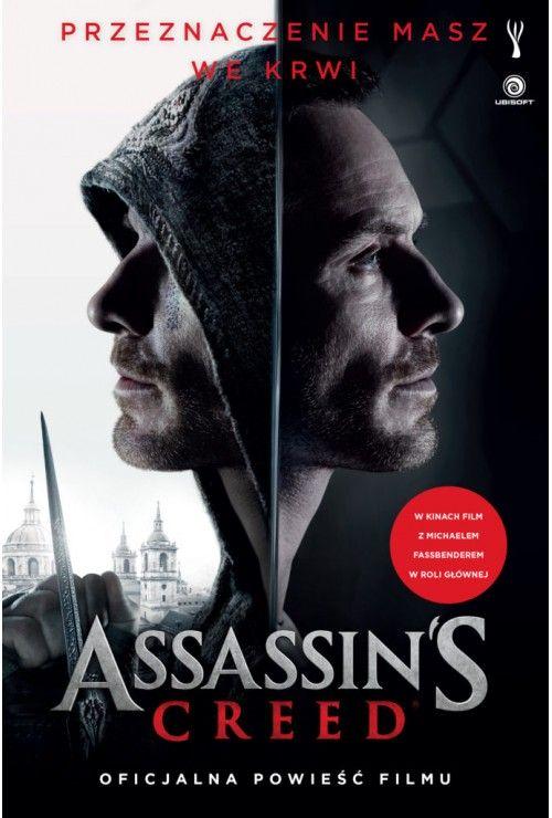 Assassins Creed. Okładka filmowa  Christie Golden